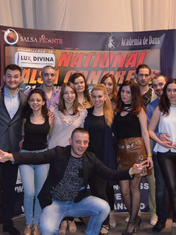 Delegația Salsa Rebels la Congresul National de Salsa - 2018