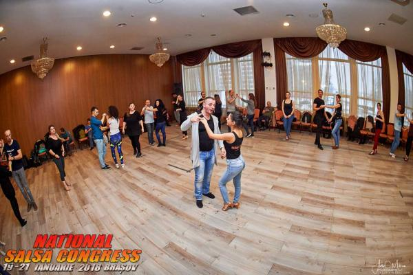 Workshop la Congresul National de Salsa - 2018